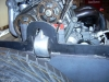 Finish rear passenger side motor mount 5