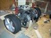 Initial Toyota 3SGTE drivetrain mockup 2