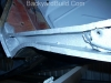 VW Bug lower rail rust repair 4